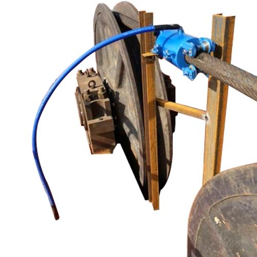钢丝绳润滑系统